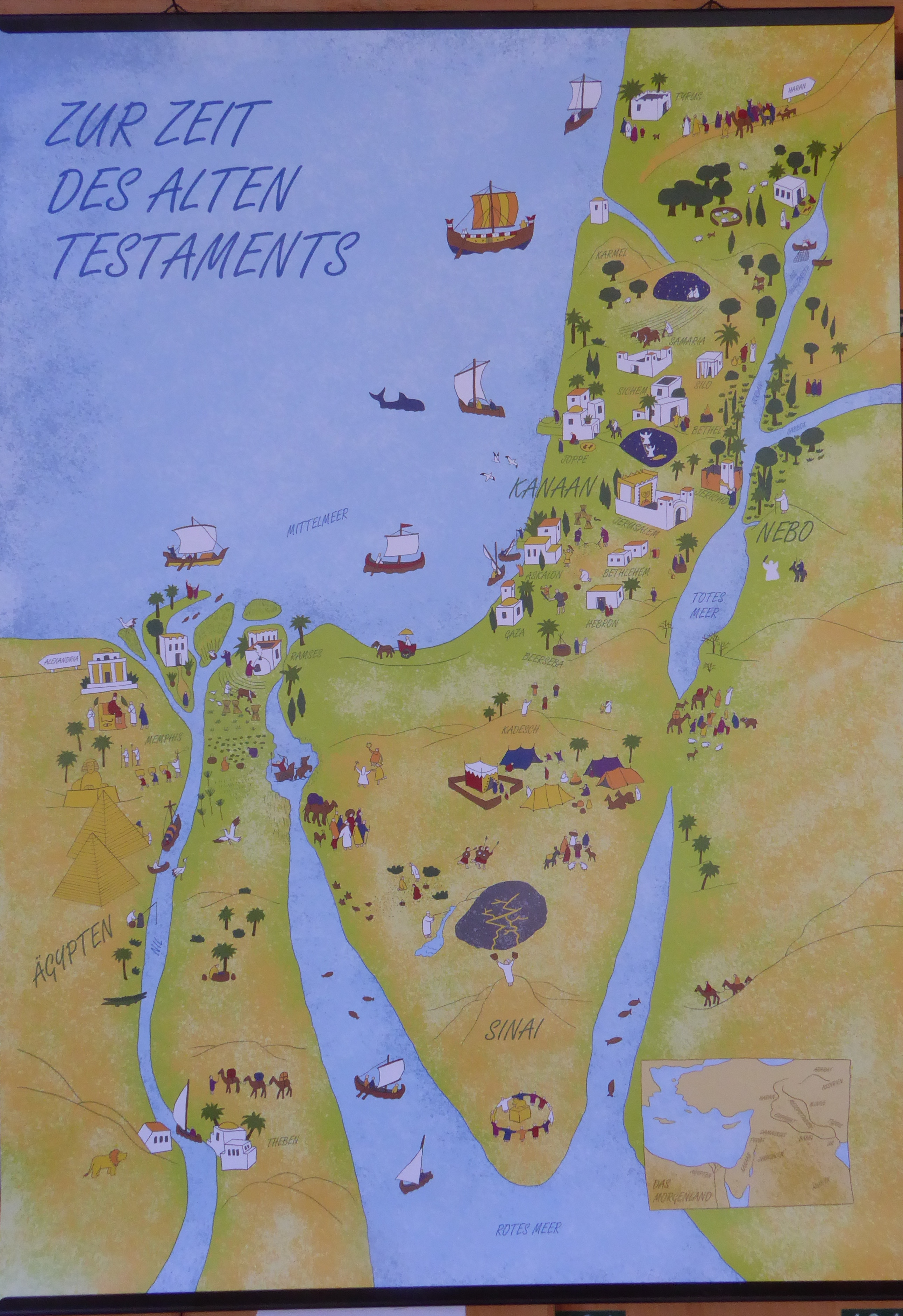 Testament altes landkarte israel Historische landkarte