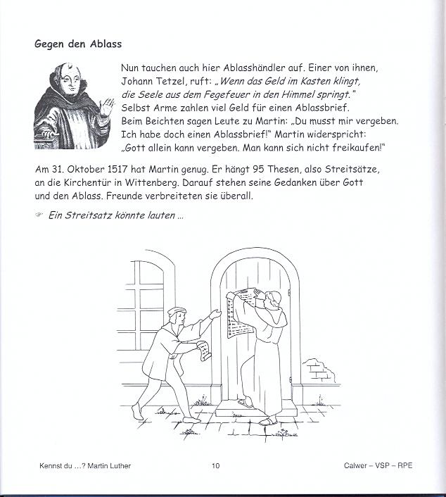 Kennst Du Martin Luther Bilderbuch Zum Selbergestalten